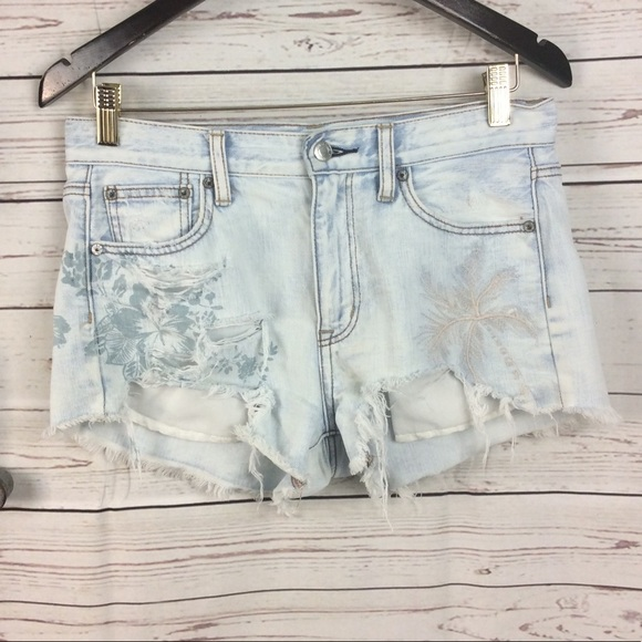 15e6b6544b55 American Eagle Outfitters Shorts | American Eagle Vintage Highrise ...
